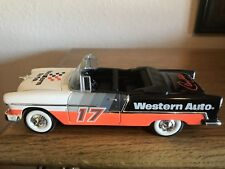 1955 Chevrolet Convertible Racing Champions 1/25 Bank Western Auto