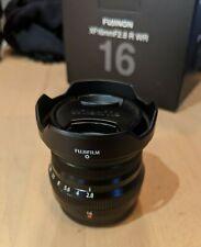 Objectif Fujifilm XF16mm f2.8