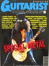 Guitare Magazine n°5 H - Spécial Métal - Amplis Qui School - Tony Macalpine -