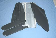 64-65 chevelle 2 post  visors & headliner black basket