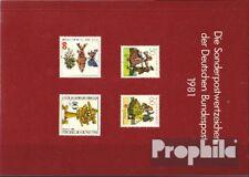 BRD (BR.Duitsland) 1981 postfris Officiële Jaarboek de Duits Post met Berlijn