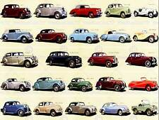 ADVERT PRODUCTS OF THE BRITISH MOTOR CAR INDUSTRY NEW ART PRINT POSTER CC3913