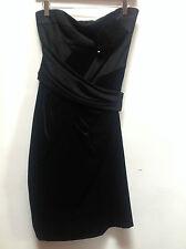 SPORTMAX BLACK EVENING DRESS   UK 8   RET £535     BNWT