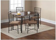 Small Kitchen Table Set For 4 Dining Compact Dinette Apartment Dorm Eating Area