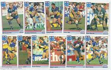 1992 Regina NSW Rugby League PARRAMATTA EELS Team Set (11 Cards) ++++