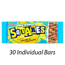 KELLOGG'S RICE KRISPIES SQUARES CHOCOLATE AND CARAMEL CEREAL BARS x 30 226792