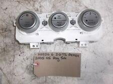 Mazda 6 TS 2.0 Petrol 5dr 2005 05 Reg Heater Controls