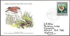 FDC - Poland, 1977 WWF, Wildlife, The Great Bustard, First Day Cover