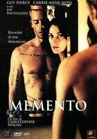 MEMENTO (2000) un film di Christopher Nolan - DVD EX NOLEGGIO - FOX