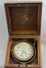 Longines Marine Chronometer 21 Jewels 8 Adjustments 50 Hour Working 1912