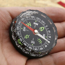 Usful Mini Pocket Compass Liquid Filled Button Hiking Camping Outdoor Survival