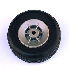 EUROKIT 34360 Set 2 ruote in gomma cerchio nylon mm 50