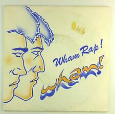 """7"""" Single - Wham! - Wham Rap (Enjoy What You Do) - S1526 - washed & cleaned"""