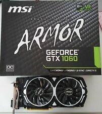 Scheda Video MSI NVIDIA GEFORCE GTX 1060 - ARMOR OC Edition 6 GB - Come nuova