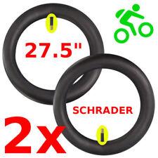 """2X SCHLAUCH 27.5 x 2.10 - 2.40"""" ZOLL FAHRRAD MTB MOUNTAIN SCHRADER AUTOVENTIL"""