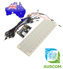 PCB Breadboard Kit with MB102 Power Supply and Jumper Cables