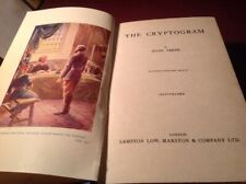1900.. Jules Verne..The Cryptogramme
