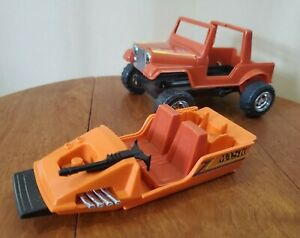 Kenner Mask Gator Vehicle Jeep & Boat Working Mechanism M.A.S.K. 1985 Toy