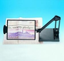 Table Stand Desk Hobby Reading Magnifier Magnifying Glass ES