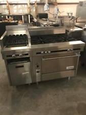 Us Range Cuisine Series Stock Pot Burners With Charbroiler Commercial Range Combo