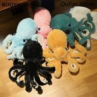 Lovely Huge Lifelike Octopus Plush Stuffed Toy Soft Animal Sleep Pillow Gift