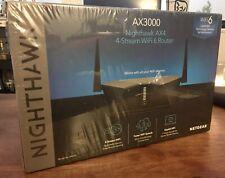 * NEW* NETGEAR Nighthawk AX3000 4-Stream Dual-Band Wi-Fi 6 Router - RAX35-100NAS