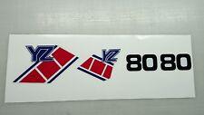 Yamaha YZ80 Graphics stickers decals transfers YZ 80