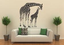 Wandtattoo Giraffe Giraffenfamilie Mutter und Kind