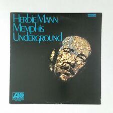 HERBIE MANN Memphis Underground SD1522 LP Vinyl VG++ Cover VG++