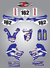 YAMAHA WR 250 1994 - 1997 full custom sticker kit SAFARI style graphics / decals