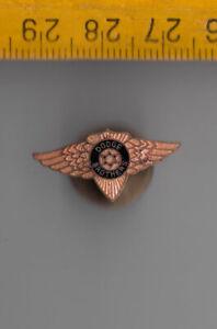 Vintage enamel DODGE BROTHERS buttonhole lapel badge pin truck lorry