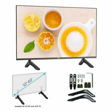 Table Top TV Stand Base Bracket Mount for 32-65 inch Flat-Screen LCD LED