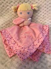 Garanimals My Best Friend Blond Baby Girl Doll Pink Security Blanket Lovey Satin