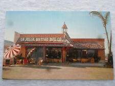San Diego California La Jolla Rattan Mfg. Co. vtg chrome postcard furniture