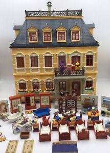Playmobil Victorian Mansion 5301 Vintage Furniture &  Nine Vintage Characters.