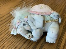 Rare Dreamsicle Intermission Circus Elephant Laying on Side Figure Collectable