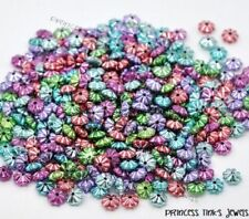 Acrylic Multi Flatback Jewellery Beads