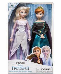 Disney Frozen 2 - Elsa und Königin Anna Puppenset -The Snow Queen Dolls (A1)