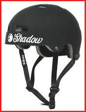 SHADOW CONSPIRACY CLASSIC HELMET ADULT LG / XL BMX BIKE PRO TEC MATTE BLACK NEW