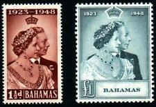 BAHAMAS 1948.SET SILVER WEDDING.UNMOUNTED MINT.SG.#194-5