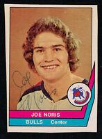 Joe Noris #5 signed autograph auto 1977-78 O-Pee-Chee Hockey Trading Card