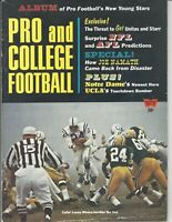 1966 Pro and College Football Illustrated magazine Lenny Moore, Baltimore Colts