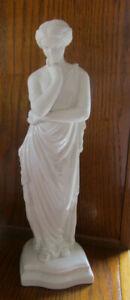 "Large 15"" Belleek Porcelain Parian Figurine Meditation - Masterpiece Collection"