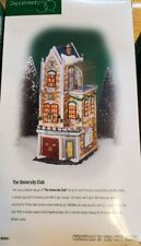 Dept 56 Christmas In The City - University Club 58945 Retired - 2000 -