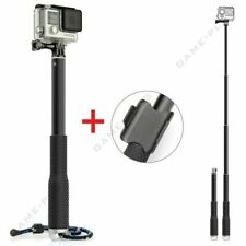 Waterproof Monopod Handheld Selfie Stick Pole for GoPro Hero 7 6 5 SJCAM Silver
