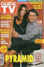 rivista GUIDA TV ANNO 2007 NUMERO 49 ENRICO BRIGNANO E DEBORA SALVALAGGIO