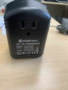 Step Down Travel Voltage Converter Adaptor US to UK Mains Plug Convertor 45W MAX