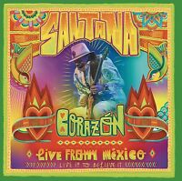 SANTANA - CORAZÓN-LIVE FROM MEXICO: LIVE IT TO BELIEVE IT DVD+CD NEUF