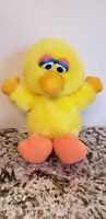 "Vintage Sesame Street~Hasbro Softies Big Bird 11"" Plush Stuffed Animal Toy"