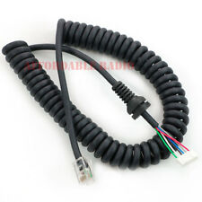 Mic Microphone cable cord for Yaesu MH-36B6JS FT-90R FT-100D FT-2600M FT-3000M